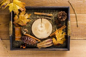 sensory tray 300x200 - Autumn activities to help inspire nursery children